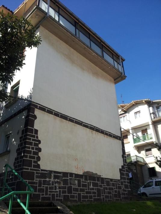 FACHADA SATE, ESTADO INICIAL, ALABERGA 58, GUEVARA CONSTRUCCIONES