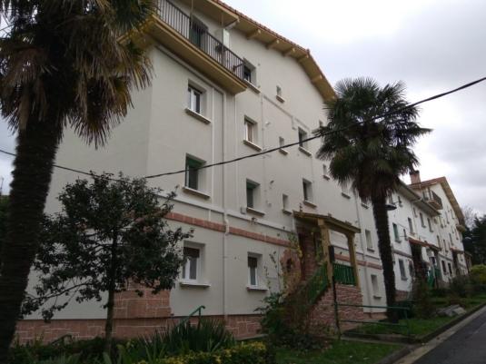 FACHADA SATE, ESTADO REFORMADO, ALABERGA 58, GUEVARA CONSTRUCCIONES